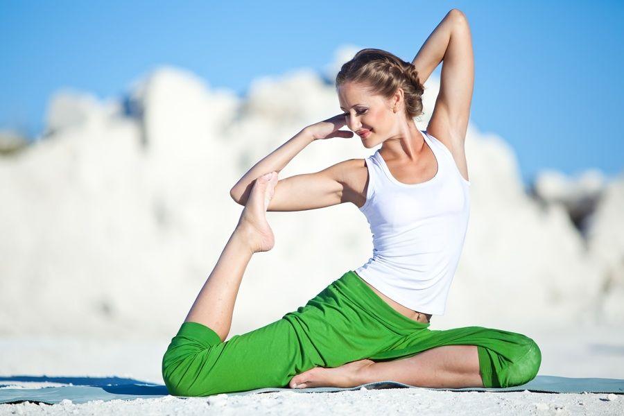 menopauza a hormonální jóga
