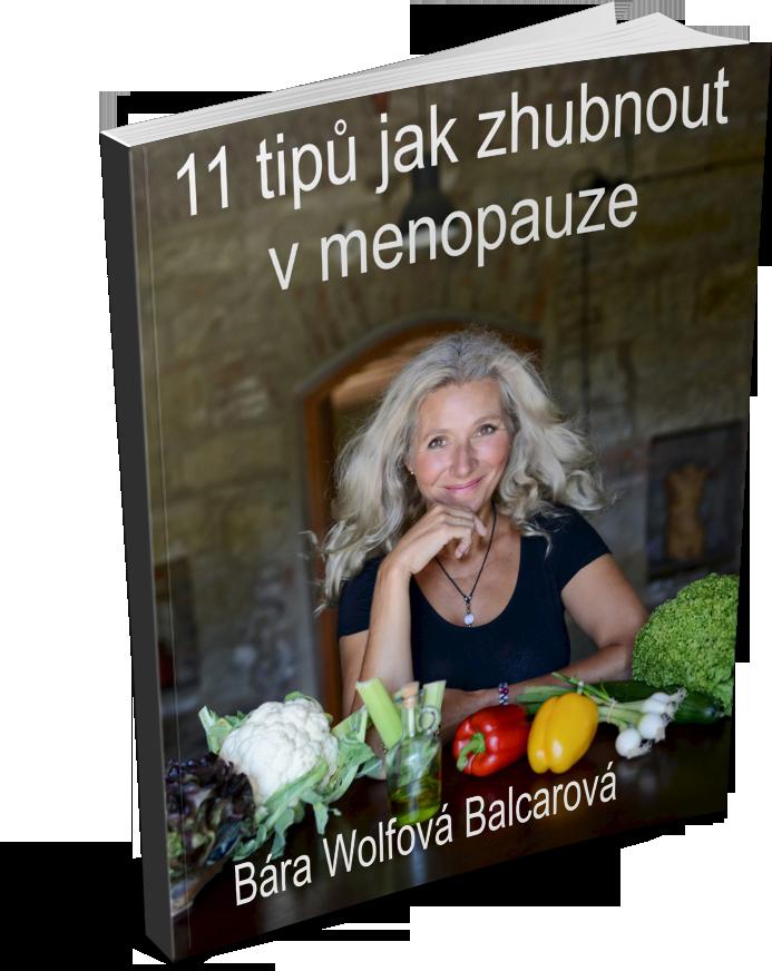 11 tipů jak zhubnout v menopauze - eBook zdarma