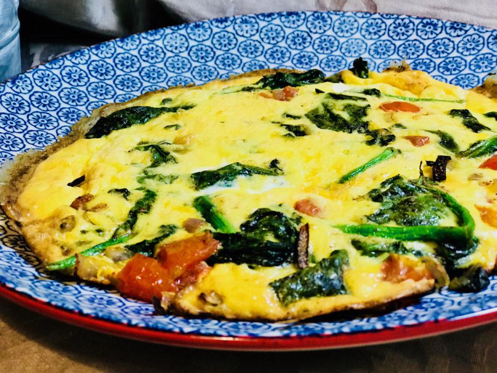 Zeleninová fritatta - recept pro hubnutí