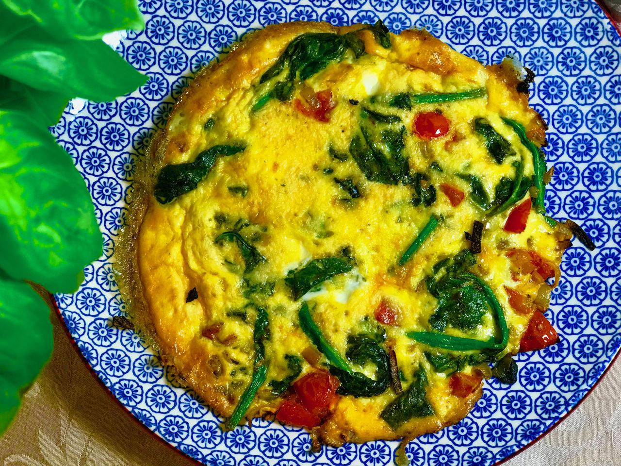 Zeleninová fritatta - recept pro zdravý metabolizmus