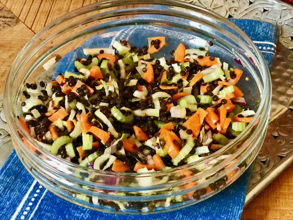 Čočkový salát podle Metabolic Balance