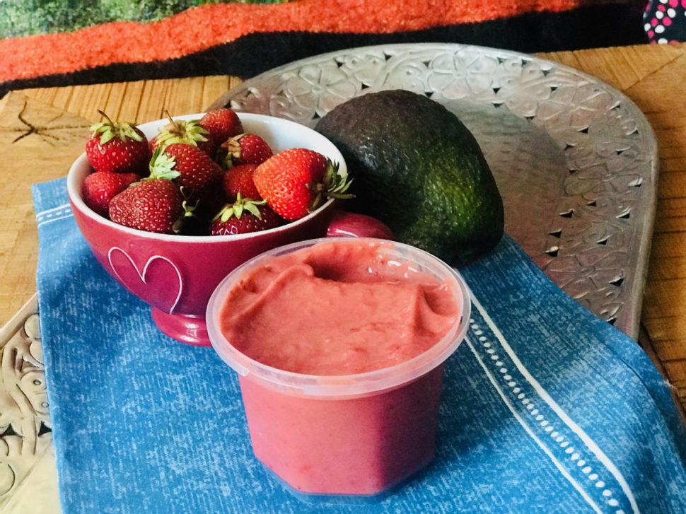 Jahodová zmrzlina pro Metabolic Balance
