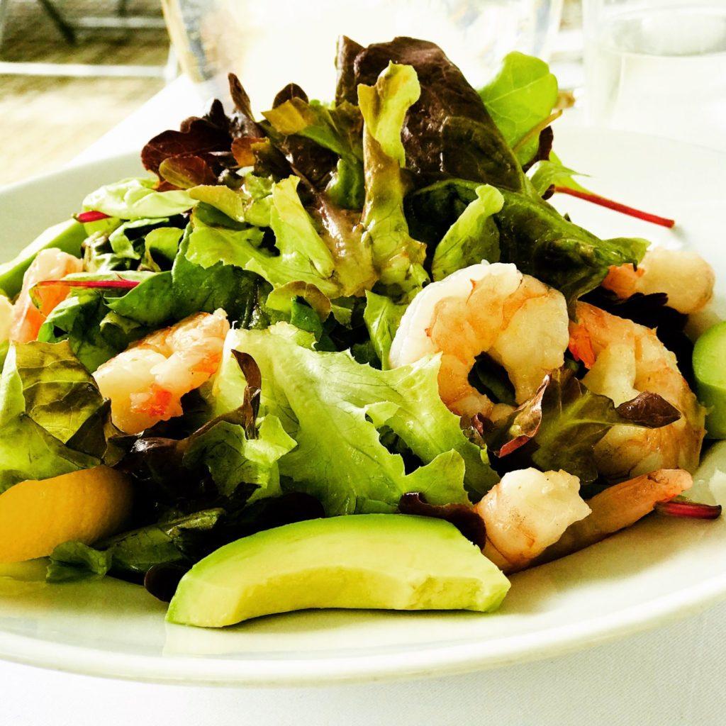 Lucka preferuje zeleninové saláty