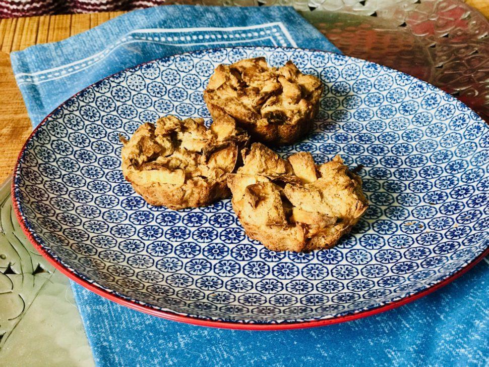 Muffiny z ovesné mouky a mléka podle Metabolic Balance
