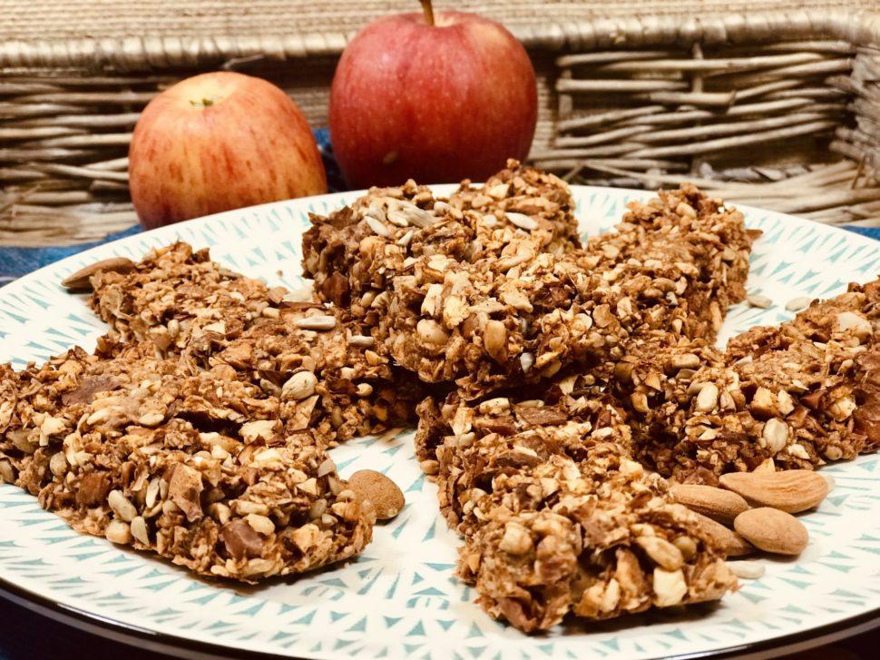 Tyčinky z mandelády a jablka - recept pro hubnutí v menopauze