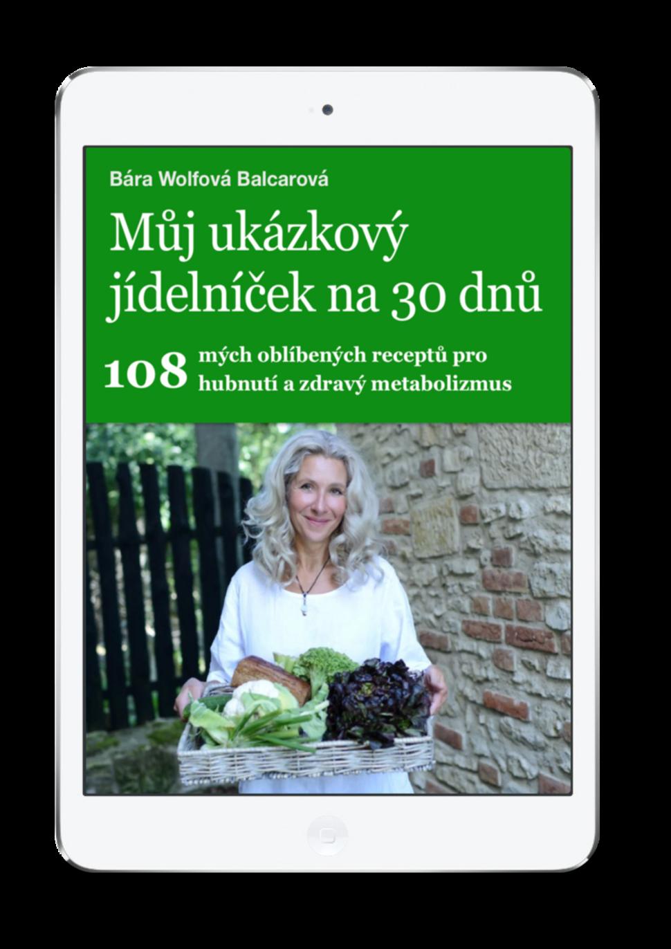 Můj ukázkový hubnoucí jídelníček na30 dnů - 108 receptů nahubnutí
