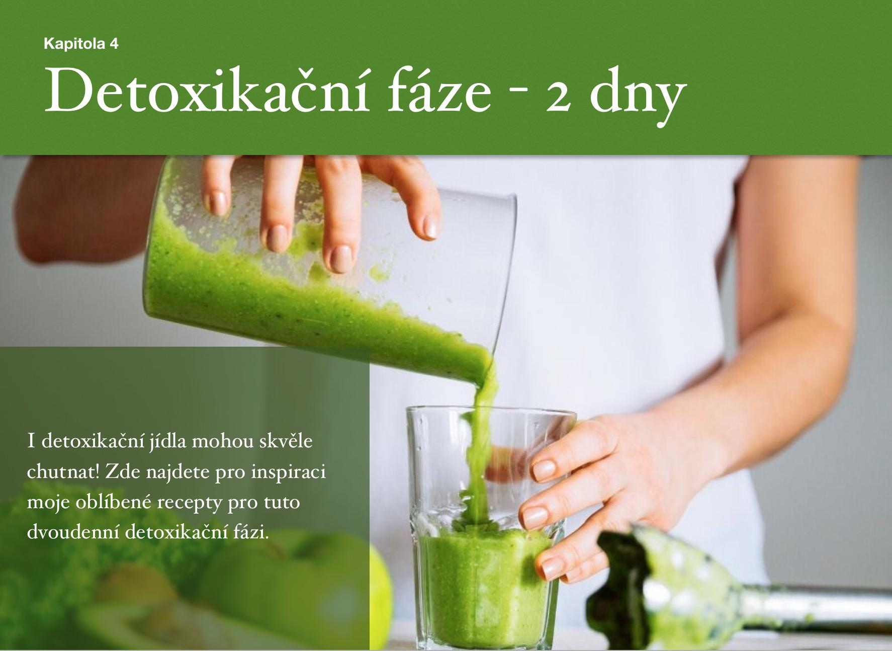 eBook Můj ukázkový jídelníček nahubnutí na30 dnů - fáze detoxikace