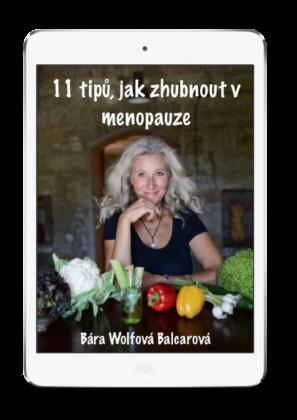 eBook nahubnutí zdarma - 11 tipů jak zhubnout vmenopauze